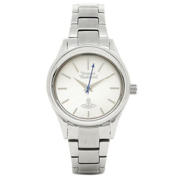 【6時間限定ポイント10倍】ヴィヴィアンウエストウッド 腕時計 VIVIENNE WESTWOOD VV111SL シルバー ホワイトパール