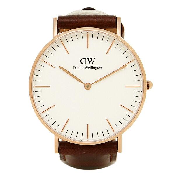 ダニエルウェリントン 腕時計 Daniel Wellington DW00100035 STANDREWS ローズゴールド クリスマスセール