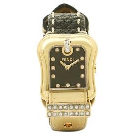 【24時間限定ポイント10倍】【返品OK】フェンディ 腕時計 レディース FENDI F384211DDC ブラック/ゴールド