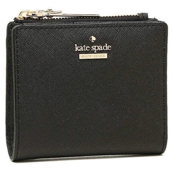 ケイトスペード 折財布 レディース ブラック PWRU5451 001