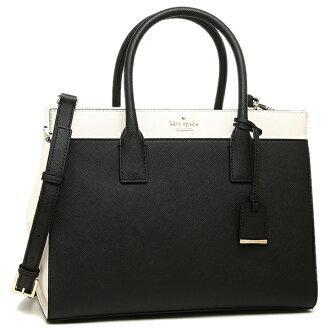凯特黑桃挎包KATE SPADE PXRU5931 067女子的黑色浅驼色