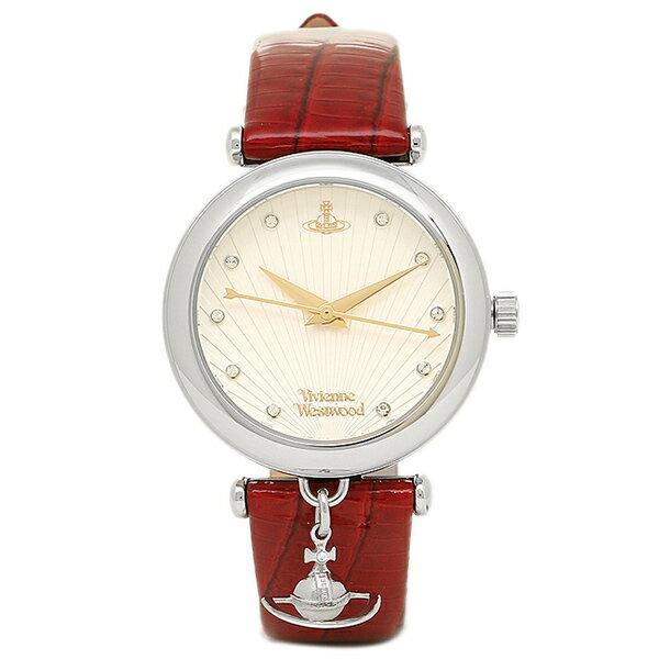 ヴィヴィアンウエストウッド Vivienne Westwood 腕時計 ヴィヴィアン 時計 ヴィヴィアンウエストウッド 時計 レディース VIVIENNE WESTWOOD VV108WHRD TRAFALGAR 腕時計 ウォッチ ホワイト/レッド