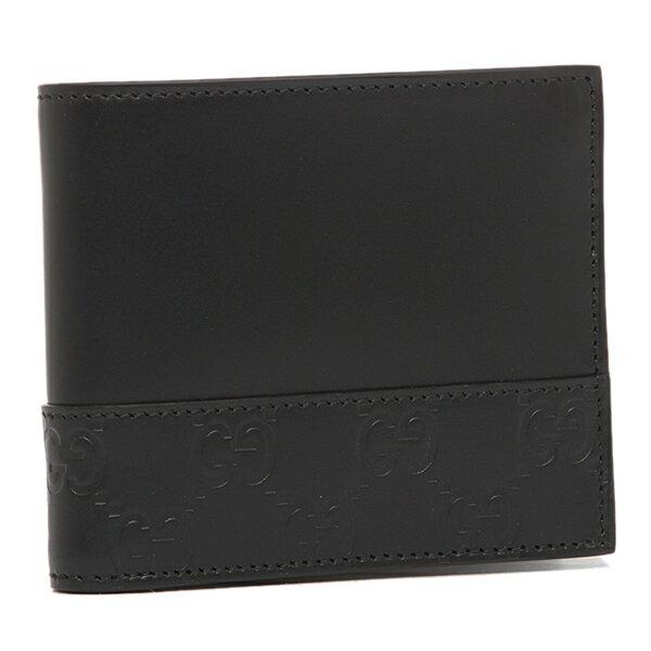 【58時間限定ポイント5倍】グッチ メンズ 折り財布 GUCCI 365487 CWD2N 1000 ブラック