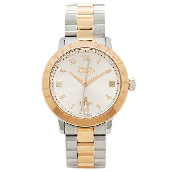 ヴィヴィアンウエストウッド レディース腕時計 VIVIENNE WESTWOOD VV152RSSL シルバー ローズゴールド