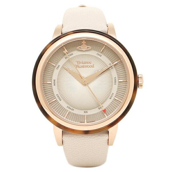 ヴィヴィアンウエストウッド レディース腕時計 VIVIENNE WESTWOOD VV158RSBG ベージュ ローズゴールド