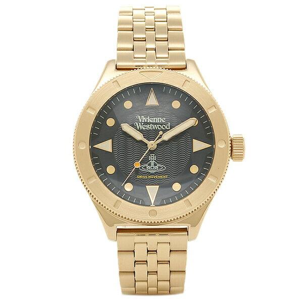 ヴィヴィアンウエストウッド メンズ腕時計 VIVIENNE WESTWOOD VV160NVGD ネイビー ゴールド