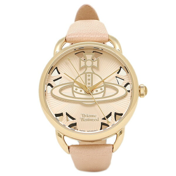 【6時間限定ポイント10倍】ヴィヴィアンウエストウッド レディース腕時計 VIVIENNE WESTWOOD VV163BGPK ベージュ ゴールド ピンク