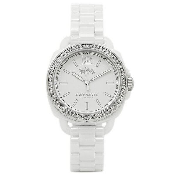 コーチ 腕時計 レディース COACH 14502601 W6083 ホワイト クリスマスセール