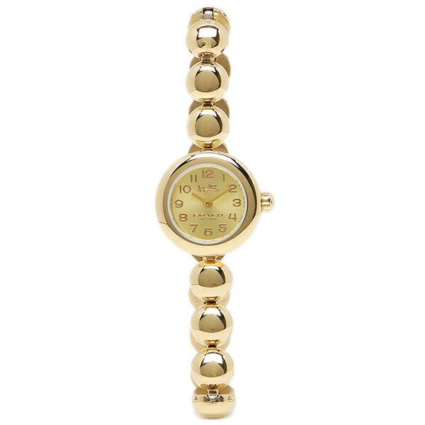 【期間限定ポイント10倍】コーチ 腕時計 レディース アウトレット COACH W1459 GLD ゴールド クリスマスセール