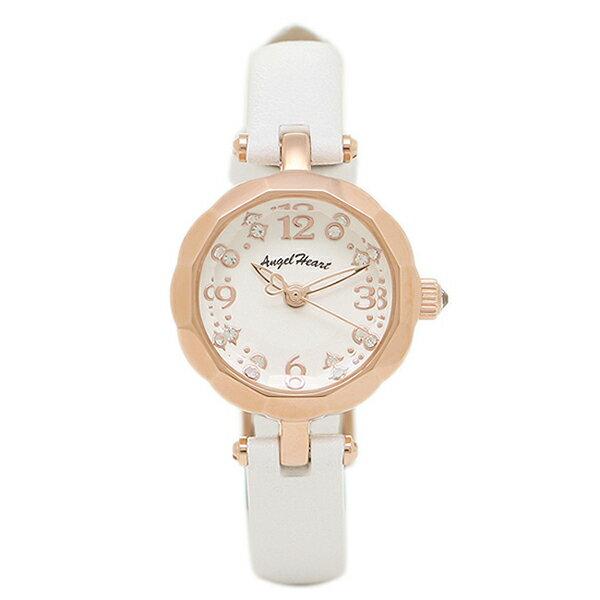 【6時間限定ポイント10倍】エンジェルハート 腕時計 ANGEL HEART BF21P-WH ホワイト ゴールド