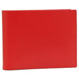 【48時間限定ポイント5倍】エッティンガー メンズ 折り財布 ETTINGER BH141JR レッド イエロー