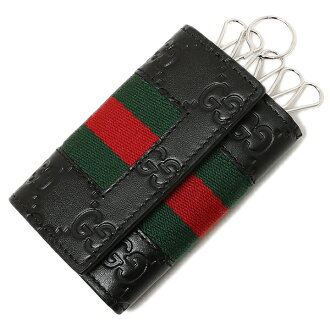 Gucci men key case GUCCI 408828 CWCLN 1060 black