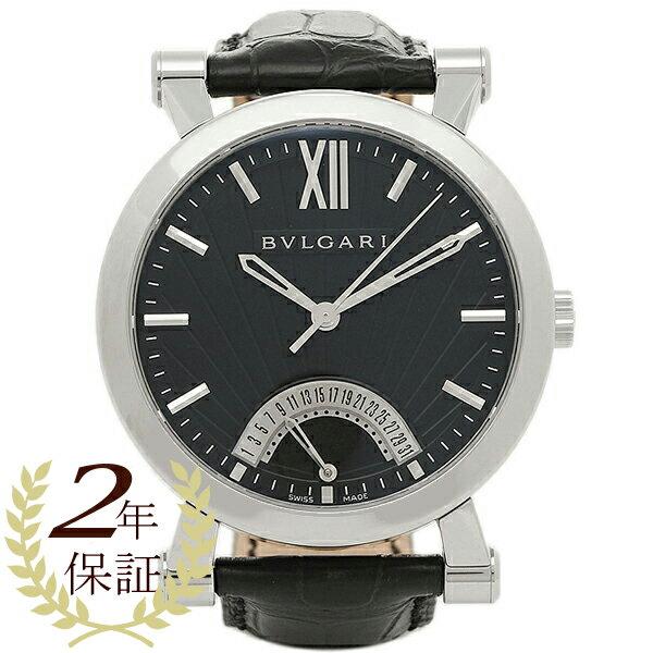 【4時間限定ポイント10倍】ブルガリ BVLGARI 時計 腕時計 メンズ BVLGARI ブルガリ ソティリオ SB42BSLDR メンズウォッチ 腕時計 シリアル有