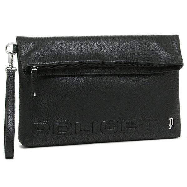 ポリス メンズ クラッチバッグ POLICE PLC301 ブラック
