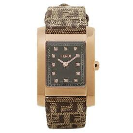 【48時間限定ポイント10倍】【返品保証】フェンディ 腕時計 レディース FENDI F704222DF-N ブラック/ゴールド/ブラウン