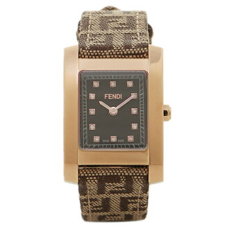 芬迪手表FENDI F704222DF-N黑色/黄金/棕色