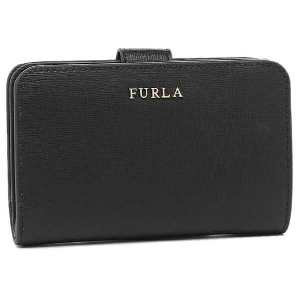 【期間限定ポイント10倍】フルラ FURLA 折り財布 レディース 872836 PR85 B30 O60 ブラック クリスマスセール