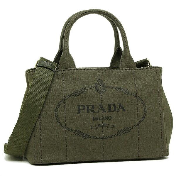 プラダ トートバッグ レディース PRADA 1BG439 ZKI F0161 カーキ