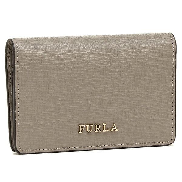 フルラ 名刺入れ レディース FURLA 871053 PS04 B30 SBB ライトグレー