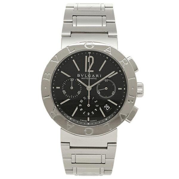 【4時間限定ポイント10倍】ブルガリ BVLGARI 時計 腕時計 メンズ ブルガリ 時計 メンズ BVLGARI BB42BSSDCH ブルガリブルガリ 腕時計 ウォッチ シルバー/ブラック