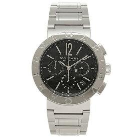 ブルガリ BVLGARI 時計 腕時計 メンズ ブルガリ 時計 メンズ BVLGARI BB42BSSDCH ブルガリブルガリ 腕時計 ウォッチ シルバー/ブラック
