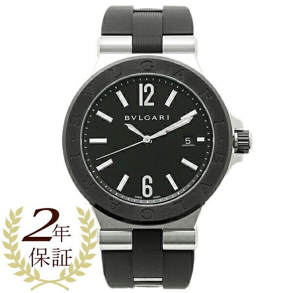 【4時間限定ポイント10倍】ブルガリ BVLGARI 時計 腕時計 メンズ ブルガリ 時計 メンズ BVLGARI DG42BSCVD ディアゴノ 腕時計 ウォッチ ブラック