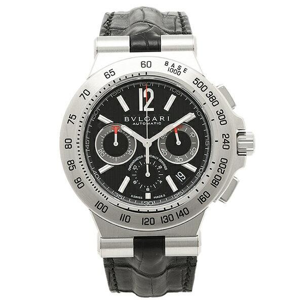 ブルガリ BVLGARI 時計 腕時計 メンズ ブルガリ 時計 メンズ BVLGARI DP42BSLDCH ディアゴノプロフェッショナル 腕時計 ウォッチ ブラック