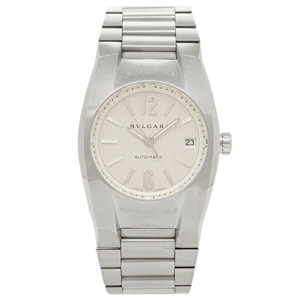 【4時間限定ポイント10倍】 ブルガリ BVLGARI 時計 腕時計 メンズ ブルガリ 時計 メンズ BVLGARI EG35C6SSD エルゴン 腕時計 ウォッチ シルバー/ホワイト