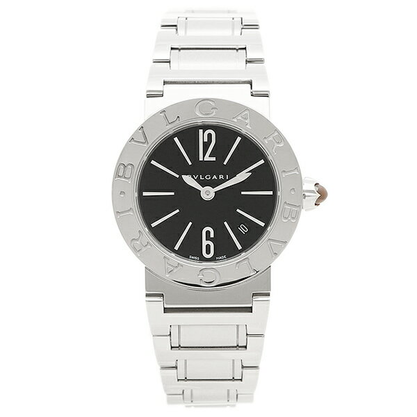 【24時間限定ポイント5倍】ブルガリ BVLGARI 時計 レディース 腕時計 ブルガリ 時計 BVLGARI BBL26BSSD ブルガリブルガリ 腕時計 ウォッチ シルバー/ブラック