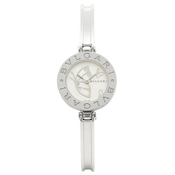 【24時間限定ポイント5倍】ブルガリ BVLGARI 時計 レディース 腕時計 ブルガリ 時計 BVLGARI BZ22BDSS.M B-zero1 ビーゼロワン 腕時計 ウォッチ シルバー/ホワイトパール