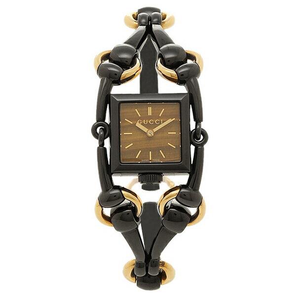 グッチ 腕時計 レディース GUCCI YA116518 ブラック ブラウン クリスマスセール