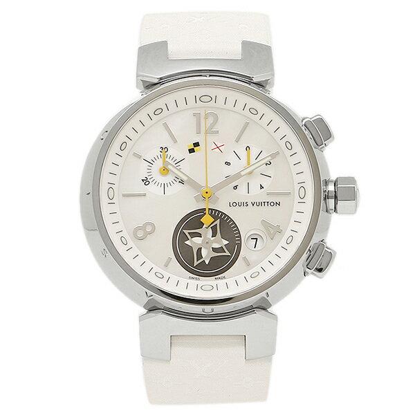 【4時間限定ポイント10倍】LOUIS VUITTON 時計 ルイヴィトン Q132C2 ホワイト