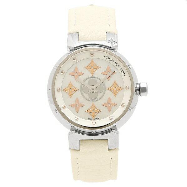 【エントリーでポイント最大19倍】LOUIS VUITTON 腕時計 ルイヴィトン Q12MS0 ホワイト クリスマスセール
