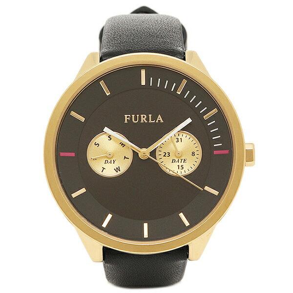 【4時間限定ポイント10倍】フルラ FURLA 腕時計 レディース R4251102501 866634 イエローゴールド/ブラック