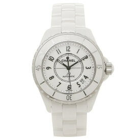 【2時間限定ポイント10倍】CHANEL 腕時計 シャネル H0970 シルバー レディース ホワイト