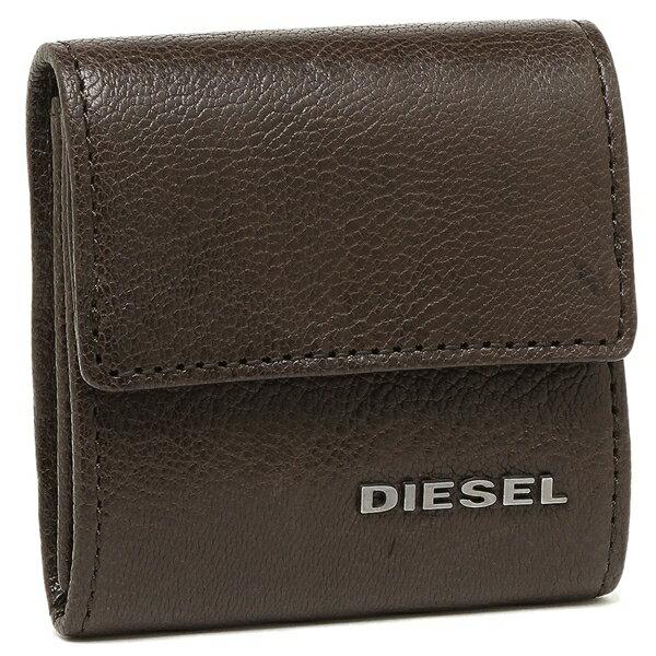 ディーゼル コインケース DIESEL X03920 PR271 T2189 ダークブラウン
