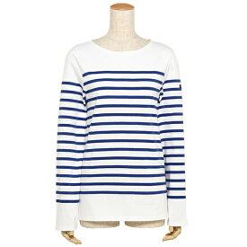 【4時間限定ポイント10倍】【返品OK】セントジェームス ナヴァル NAVAL メンズ レディース ロングTシャツ SAINT JAMES 2691 90 ホワイト ブルー