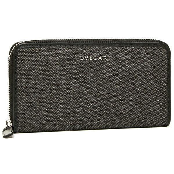 ブルガリ 長財布 レディース BVLGARI 32587 WEEKEND ラウンドファスナー ブラック