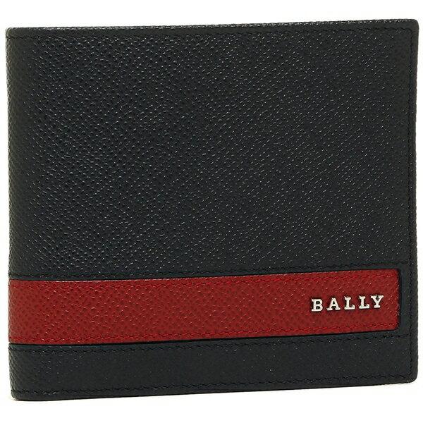 バリー メンズ 折財布 BALLY 6214542 267 ネイビー ブラウン