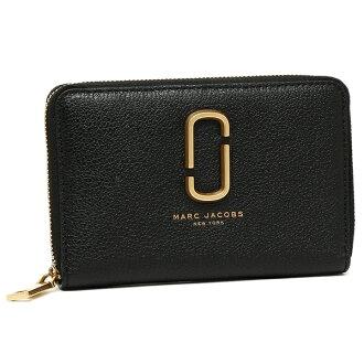 标记雅各布机会钱包MARC JACOBS M0012077 001女子的黑色