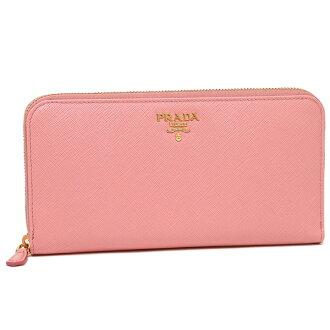Prada Lady's long wallet PRADA 1ML506 QWA F0442 pink