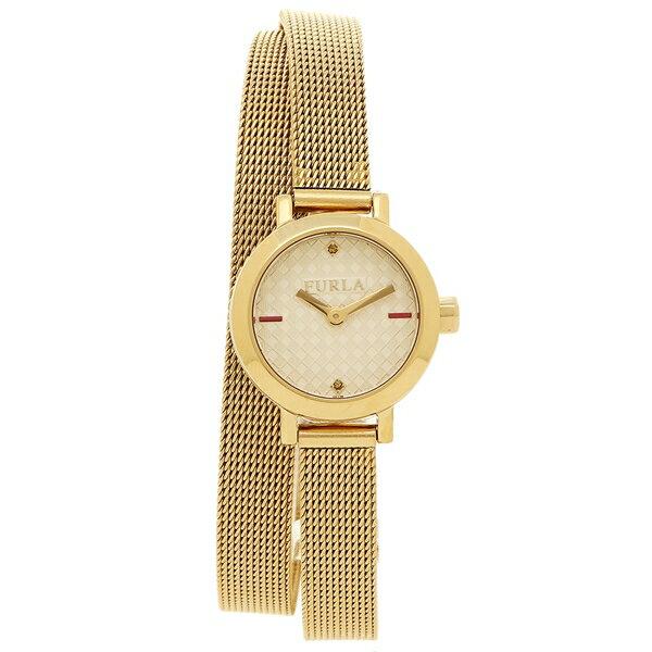 フルラ 腕時計 レディース FURLA R4253107501 899504 イエローゴールド