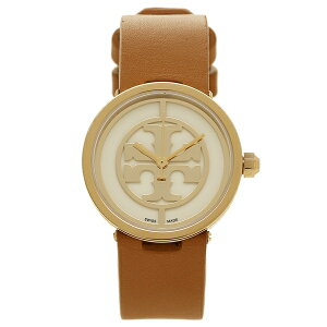 【2時間限定ポイント10倍】トリーバーチ 時計 アウトレット レディース TORY BURCH TRB4004 イエローゴールド ホワイト ブラウン