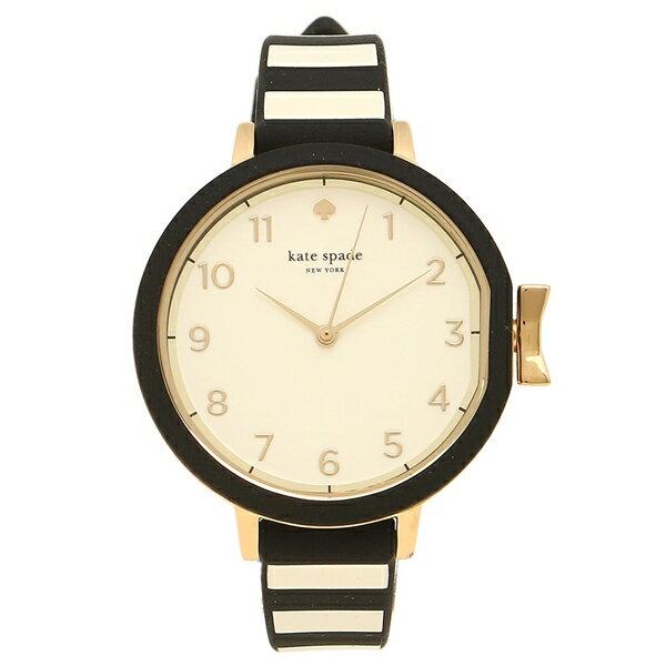 ケイトスペード 腕時計 レディース ブラック ホワイト KSW1313 クリスマスセール