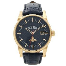 【4時間限定ポイント20倍】ヴィヴィアンウエストウッド 腕時計 メンズ VIVIENNE WESTWOOD VV065BLBL ネイビーブルー イエローゴールド