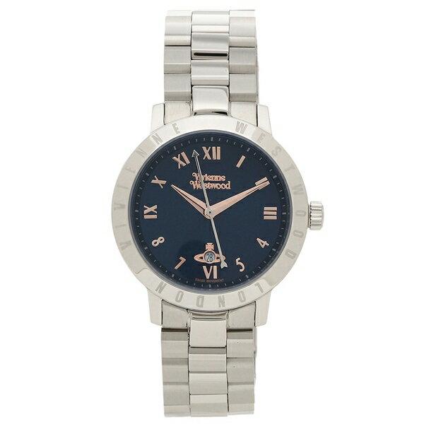 ヴィヴィアンウエストウッド 腕時計 レディース VIVIENNE WESTWOOD VV152NVSL ネイビーブルー シルバー