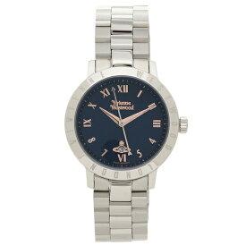 【4時間限定ポイント10倍】ヴィヴィアンウエストウッド 腕時計 レディース VIVIENNE WESTWOOD VV152NVSL ネイビーブルー シルバー