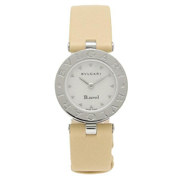 ブルガリ 腕時計 レディース BVLGARI BZ22C1SL M ベージュ ホワイト シルバー