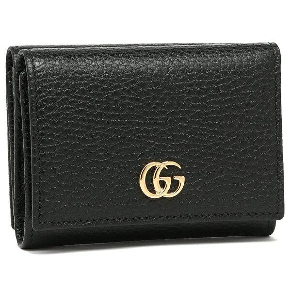 グッチ 折財布 レディース GUCCI 474746 CAO0G 1000 ブラック