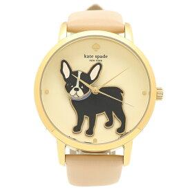 【30時間限定ポイント5倍】ケイトスペード 腕時計 レディース ピンク イエローゴールド KSW1345